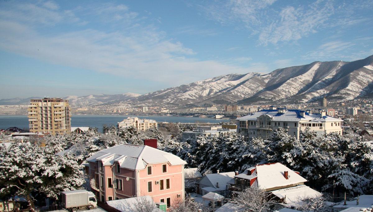 кабардинка зимой фото сегодняшний